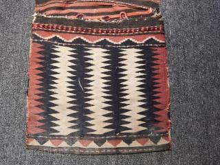 Antique Zakatala Kilim Sadllebag