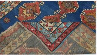 Early 900s Kazak Quba 152 x 220 cm