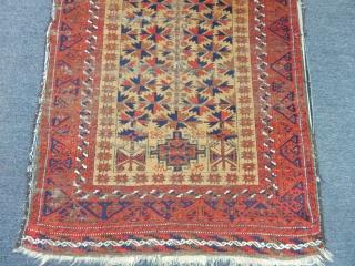 Old Baluch Prayer Rug