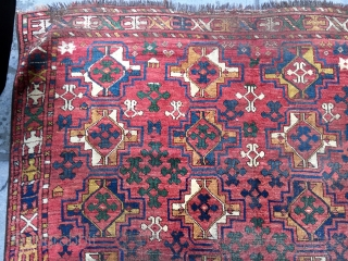 Antique Ersari Main Rug