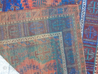 Antique Timurı Baluch Rug
