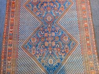 Old Avsar Rug size.185x130cm