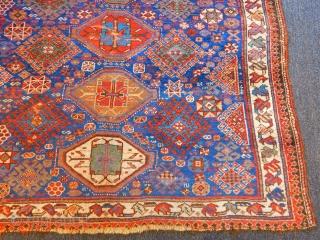 Old Qashqaii Rug  size.295x162cm