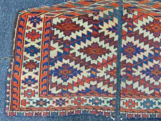 Old Turkmen Yamut Asmalıyk Fragment