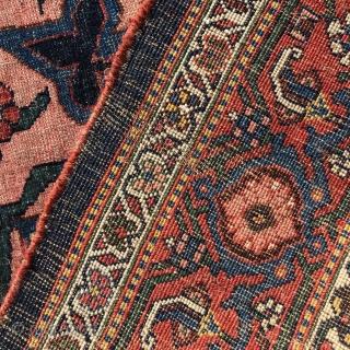 Late 19 century Bijar rug 4.6 x 6.9