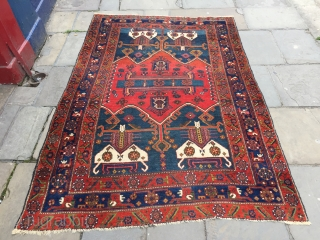 Kolyai Kurd rug great natural dyes all wool  