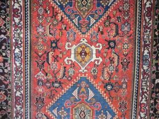 qashgai Antique rug 19th century size 255x160
