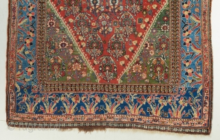 "A superb Kashkuli Qashqai recently acquired.  In excellent, near perfect original condition. Gorgeous color palette. 5'7"" x 3'7.  Visit our website for more rare woven art: www.bbolour.com"
