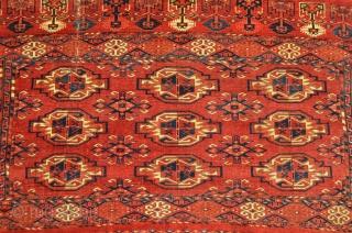 """Turkmen Chuval. Very Velvety. Fully Floppy. 4'9"""" x 2'8""""."""