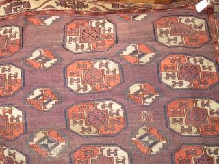 Chodor Tauk Nauska Main Carpet, great quality with some silk highlights. Older than most.