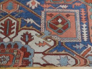 ANTIQUE SERAPI       All Natural Colors, Very fine original antique quality rugs,   Bernard Zarnegin, Switzerland