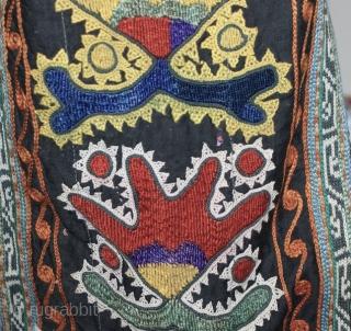 Antique Uzbek hat, good condition.