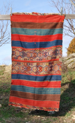 Malatya open cuval. Cm 103x185. Wonderful dyes. good condition. See more pics on Facebook: https://www.facebook.com/media/set/?set=a.409512779257.201782.358259864257&type=3