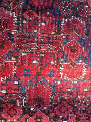 Beshir rug. Cm 110x215. End 19th c. Good colors. Good cond.  Ref: Bsh/3