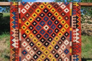 Maimana kilim. Cm 215x340. Big, beautiful and cheap!