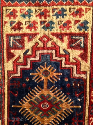 """Makri Double Niche Prayer Rug. Circa 1875, 6'8"""" x 4'4"""", all natural dyes, rich color. Contact for additional images and info."""