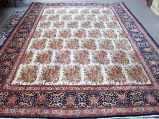 Persian,flower garden 3,07*4,50 good condition