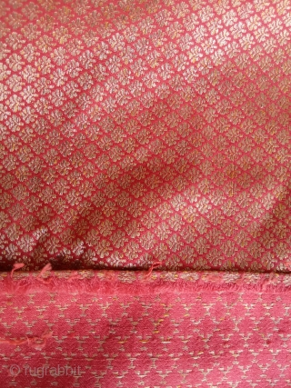 Antique zari persian white metal size:235x30-cm please ask