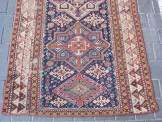 caucasian antiqe rug size:256x113-cm please ask