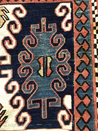 Caucasian Saddle Bag (Heybe) Size 56x143 cm / 1'9'' x 4'7''