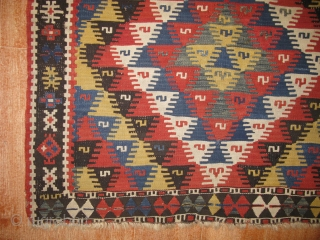 East anatolian Erzurum kilim size 155x112