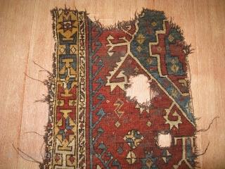 4226-konya carpet fragment size 140x69