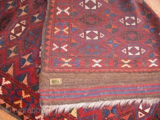 4292-Ersari carpet size 158x130