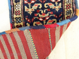 N.W.Iran (Kurdish) small bag pair, in great condition. Colours good 27in by 11in