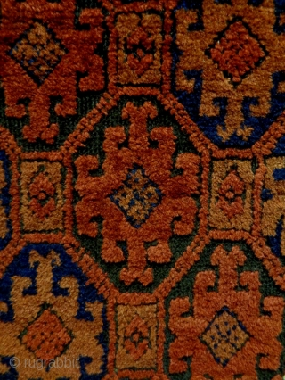 Baluch Size: 88x153cm Natural colors, made in circa 1910