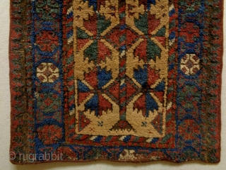 19th Century Baluch Balisth Size: 39x90cm Natural colors
