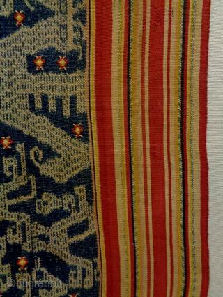 Interesting 19th Century Indonesian Ikat Size: 60x195cm