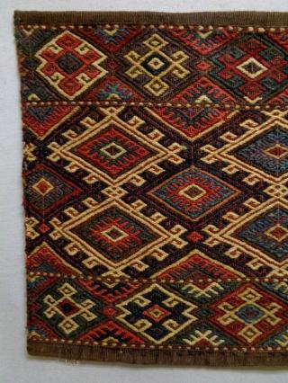 19th Century Tribal Soumakh Size: 104x54cm