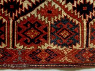 Unique Special size Turkmen Size: 235x56cm Made in circa 1910