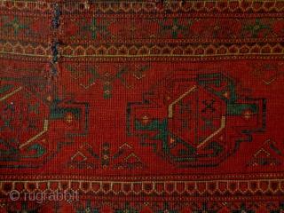 Kizilayak/Ersari Penjerelik Size: 128x48cm made in period 1910