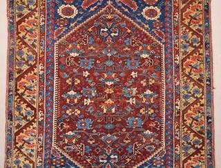 18th Century Western Anatolian Kula Rug size 132x174 cm