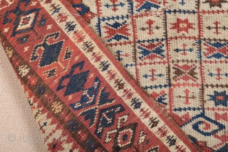 Mid 19th Century Small Beshir Prayer Rug size 90x130 cm