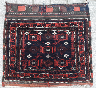 Late 19th Century Khorassan Baluch size 74x78 cm