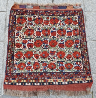 19th Century Persian Khamseh Bag Face size 78xx80 cm