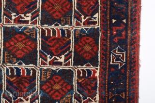 Late 19th Century Afshar Bag size 75x75 cm