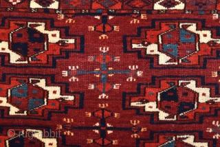 Mid 19th Century Turkmen Yomud Torba size 42x123 cm