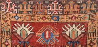Mid 19th Century Konya Yastik size 56x90 cm