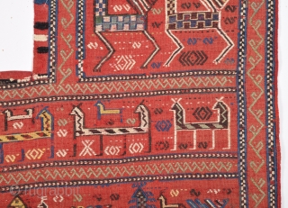 Late 19th Century Caucasian Horse Cover size 153x184 cm