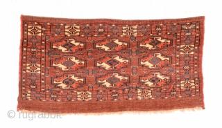Mid 19th Century Yomud Torba size 47x92 cm