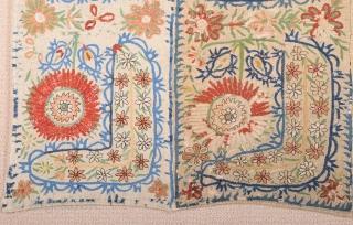 18th Century Ottoman Embroidery size 80x96 cm