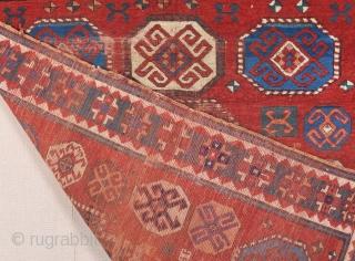 Mid 19th Century Caucasian Rug size 150x173 cm