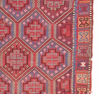 Mid 19th Century  Anatolian Zileh 82x98 cm