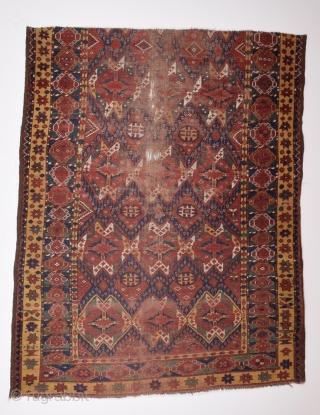 Mid 19th Century Beshir Fragment size 154x190 cm