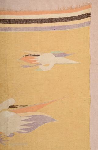 Gansu Kilim circa 1850 size 150x205 cm