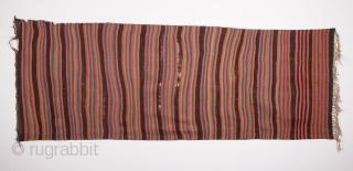 Early 19th Century Karapinar Kilim size 95x263 cm