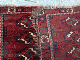 Early 19th Century Yomud Torba size 45x100 cm